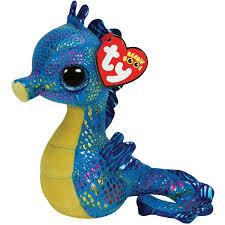 ty beanie boos neptune seahorse glitter eyes small 6