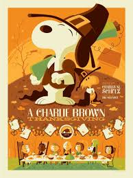 a brown thanksgiving poster by tom whalen onsale info