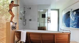 Unique Bathroom Designs  Super Idea Bathroom With Grey Stone - Unique bathroom designs