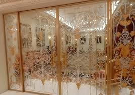 eccentric home decor eccentric bathroom design with blurred glass partition combined