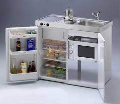 miniküche stengel miniküche single küche 100cm weiss metall mit becken