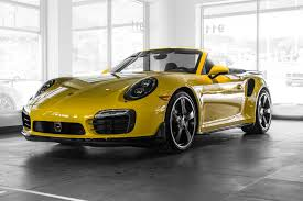 convertible porsche 2016 2016 porsche 911 turbo s for sale in colorado springs co 16039