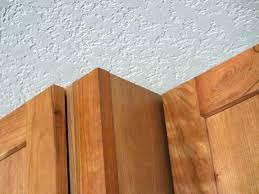 Quarter Round Kitchen Cabinets A Kitchen Remodel 8 Finishing Kitchen Cabinets With Custom
