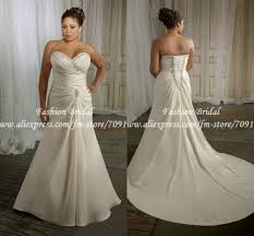 a line plus size wedding dresses luxury brides