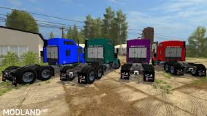 kenworth t800 semi truck kenworth t800 sleeper mod farming simulator 17