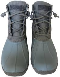 womens sperry duck boots size 11 sperry mint green grey s saltwater duck boots booties size