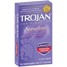 condom and contraceptives shop heb everyday low prices online trojan her pleasure sensations armor spermicidal lubricant condoms