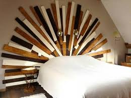 Wood Pallet Headboard Recycled Pallet Headboards Upcycle Art