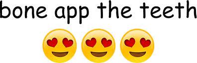 Yellow Teeth Meme - bone app the teeth meme stickers by reubengore redbubble