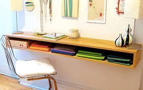 Wall Desk Diy 4 Diy Floating Wall Desks Tutorials To Build Your Own Floating