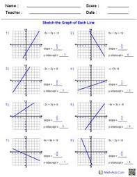 free algebra 1 worksheets i found perfect for supplemental work