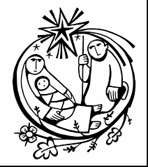 beautiful jesus our savior coloring pages with baby jesus coloring