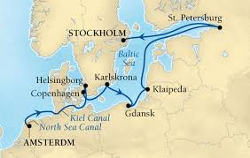map northern europe scandinavia 12 days northern europe cruise amsterdam to stockholm travel wizard