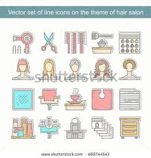 vector set hand drawn colored doodles stock vector 409967344