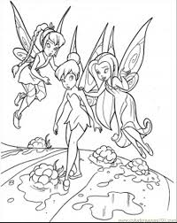 printable coloring pages tinkerbell fairies the queen clarion