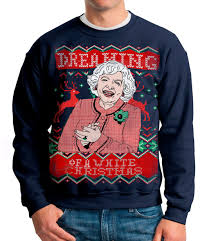 christmas sweater christmas sweater dreaming of a white christmas