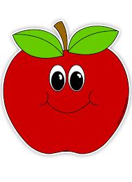 apple cartoon cartoon red apple clip art at clker com vector clip art online
