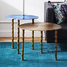 Occasional Table And Chairs Modern Side Tables And Unique Accent Tables Cb2