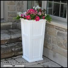 promenade patio planters tall plastic planters tapered planters