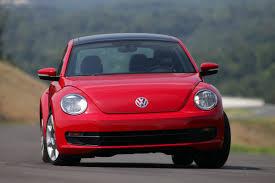 volkswagen red 2012 tornado red vw beetle 2 5l front eurocar news