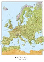 Europe Time Zone Map Mapsherpa Oxford Cartographers