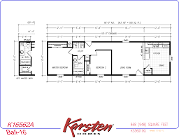 Karsten Homes Floor Plans Avalon Series Floorplans Single Wide Homes Karsten El Dorado