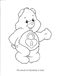 care bears coloring pages for kids free printable coloring
