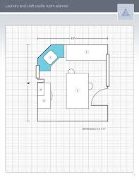 Craft Room Floor Plans Blueprint 3 Playuna