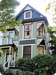 green queen anne victorian house front view north histori u2026 flickr