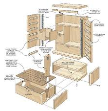 Tool Storage Shelves Woodworking Plan by 126 Best Tool Chests Cabinets And Boxes Images On Pinterest