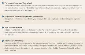 schwab moneywise calculators u0026 tools understanding form w 4