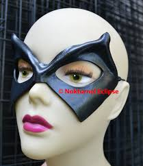 Ms Marvel Halloween Costume Comedian Black Leather Mask Unisex Watchmen Ms Marvel