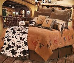Cowboy Bed Sets Cowboy Branded Western Bedding Set King Home Kitchen