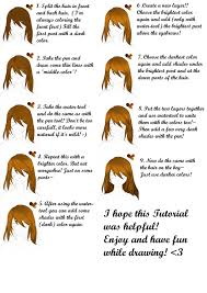 requested 9 steps hair tutorial paint tool sai by ikkie chan on