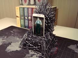 diy phone charger i made an iron throne phone charger diy