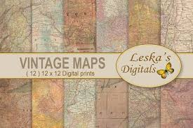 paper maps 50 beautiful vintage maps for all your retro designs creative