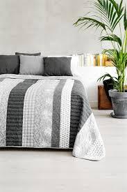 Jysk Duvets Bed Throw Kornblomst 240x260 Grey Jysk