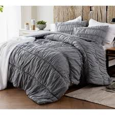 byb alloy grey cotton lace textured quilt set on sale free