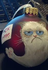 grumpy cat ornament creations by kasima