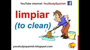 spanish lesson 70 household chores in spanish vocabulary