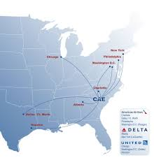 Map Of Chicago Airport 2016 Route Map With Key Columbia Metropolitan Airport Cae