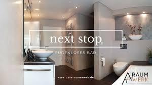 Bad Ohne Fliesen Badezimmer Ohne Fliesen Im Betonlook Next Stop Fugenloses Bad