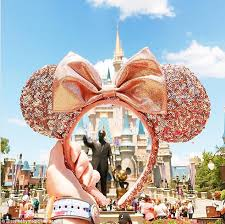 disney released rose gold minnie mouse ears daily mail