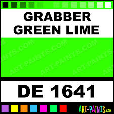 grabber green lime engine enamel paints de 1641 grabber green