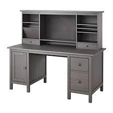 Black Desks With Hutch Hemnes Desk With Add On Unit Black Brown Ikea