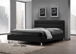 chambre lit lit adulte design coloris noir lit chevet adulte lit