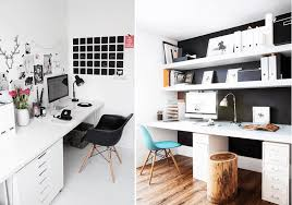 grand bureau blanc aménager un bureau dans le salon joli tipi