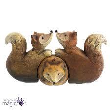 hedgehog family ornament set of 3 hugging cuddling woodland gift