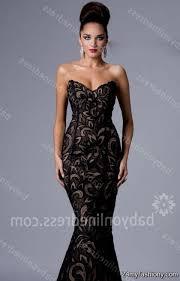 black lace prom dress mermaid 2016 2017 b2b fashion