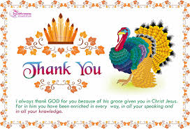 thank you cards for thanksgiving day messages wishes quotes